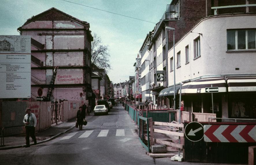 Die Sanierung des Frankfurter Stadtteil Bockenheim