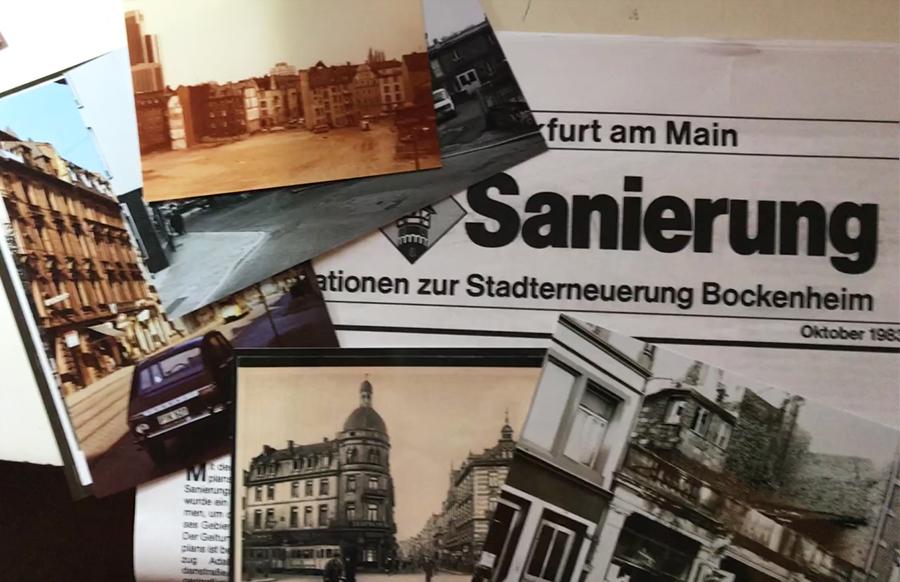 Fotos, Dokumente  und Zeitzeugen zur  Sanierung Bockenheims gesucht